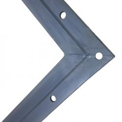 6962 Special EPDM Vulcanized Molded Corner Joint with Bolt Holes
